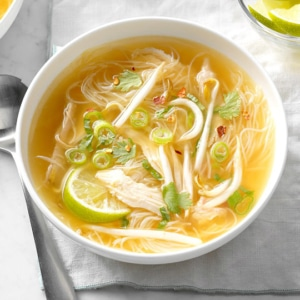 Chicken Noodle Thai Soup